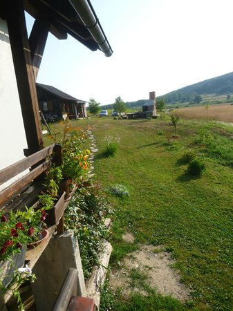 House Izvor : view from the breakfast porch