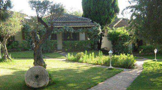 Fonda El Postillon: Jardin