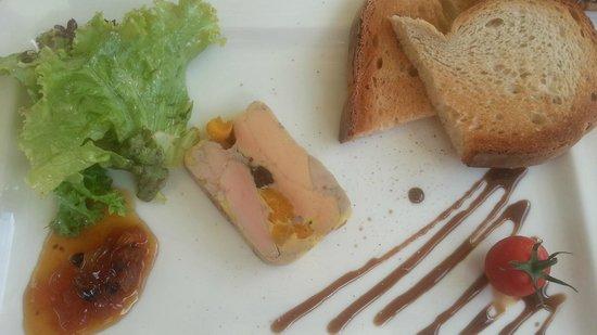 L'auberge La table gourmande de Christophe : le foie gras ***