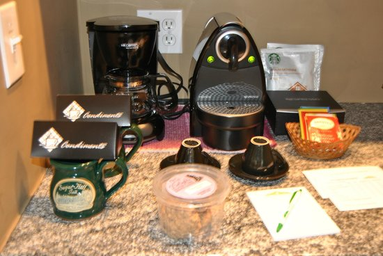 Sugar Hill Inn: The Nespresso machine was fantastic
