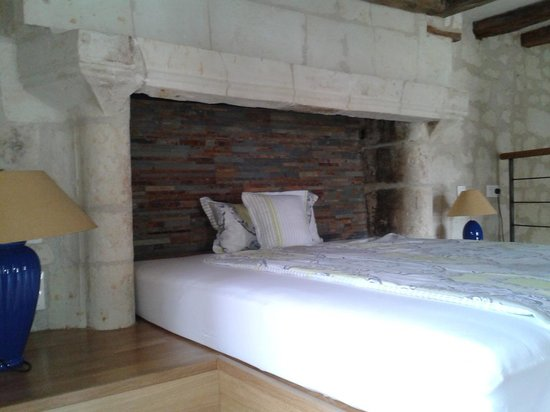 "Le Clos de la Garde: Bett in dem Apartment ""Anne"""