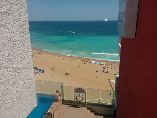 Rocamar Exclusive Hotel & Spa: The view from the 5th floor hall