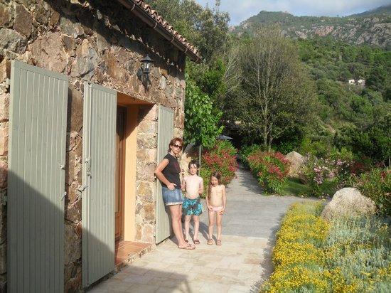 Domaine Codaleone : Les villas en pierre