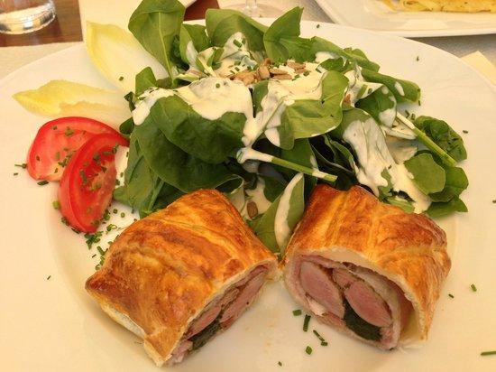 Bergrestaurant Blatten : Filet im Teig