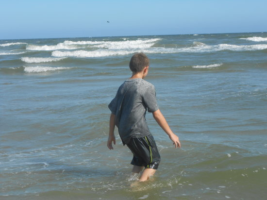 Holden Beach: had a great time first time ever a the beach