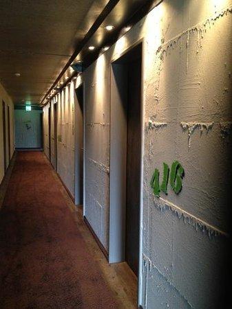 Altes Stahlwerk: Corridor with industrial theme