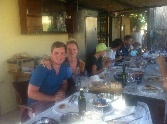 Ta' Mena Estate: post tour tasting