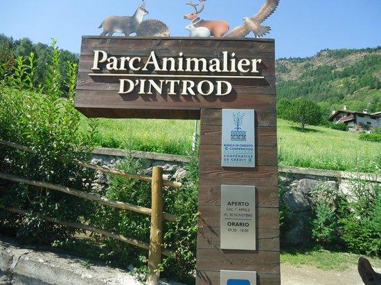 Introd, Italy: Ingresso al Parco
