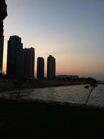 Hilton Doha: sunset