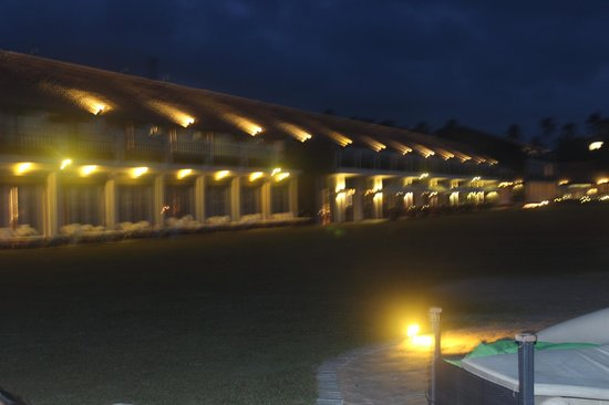 The Surf Hotel: at night