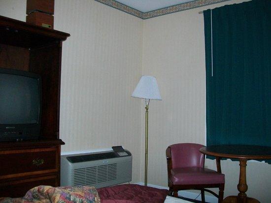 Pilgrim Inn: Low budget decor but not clean