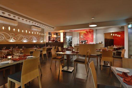 Two Fat Indians: Restaurant floor area