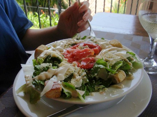 Seagull Cove Resort: Large Caesar Salad at lunch