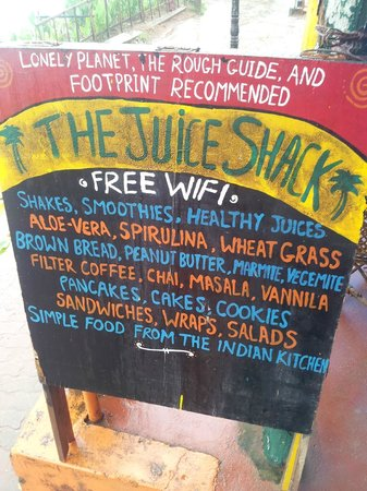 Das Juice Shack In Varkala