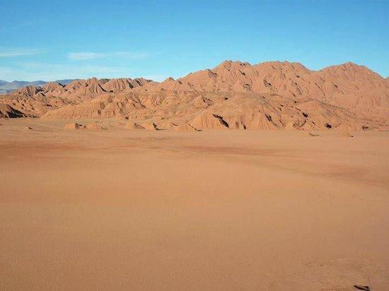Tolar Grande, Argentinien: Los Colorados