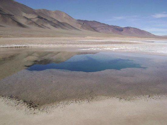 Tolar Grande, Argentina: Ojos de Mar