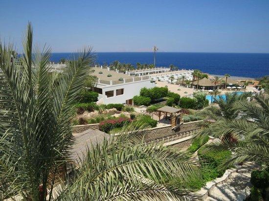 Hilton Sharm Waterfalls Resort : View from the Chillax pool