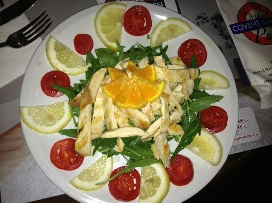 Covent Garden: Rucola and chicken salad