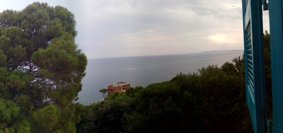 Luchino Visconti Museum - Villa La Colombaia: view from a la palombaia's window