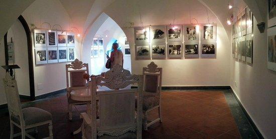 Luchino Visconti Museum - Villa La Colombaia : Inside La Palombaia (pictures expo)