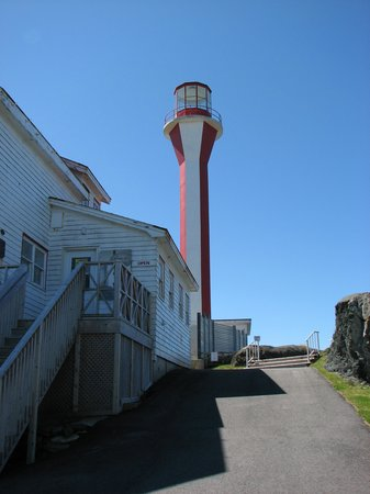 Cape Forchu Lightstation: The lighthouse
