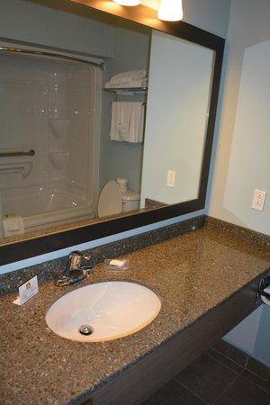 BEST WESTERN PLUS Liverpool Hotel & Conference Centre : Large Sink Area