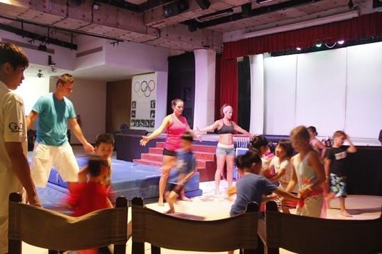 Club Med Bintan Island: mini club activities