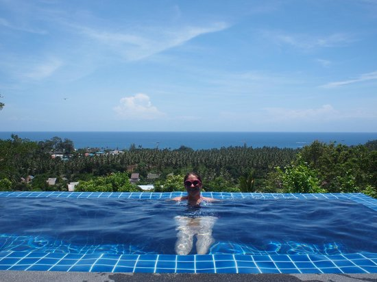 The Place Luxury Boutique Villas: refreshing pool+amazing view