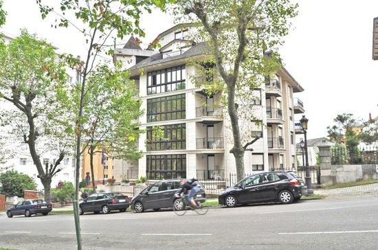 Hotel Apartamentos Don Carlos: Fachada