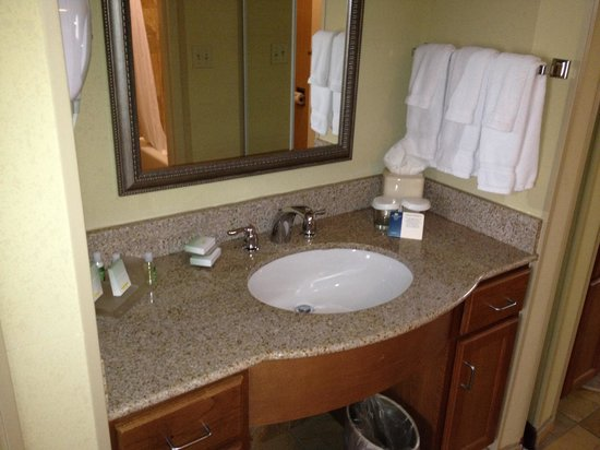 Homewood Suites by Hilton Champaign-Urbana: Bathroom 2
