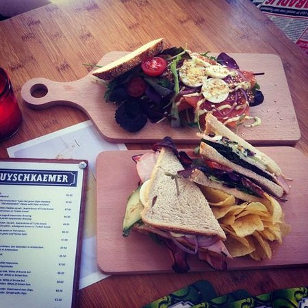 De Huyschkaemer : Some of our sandwiches