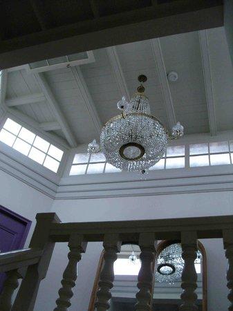 Hotel Boutique Quinta Miraflores: Treppenhaus