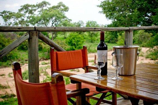 Umlani Bushcamp: view from lunch deck