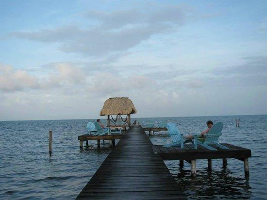 Colinda Cabanas: The amazing dock!