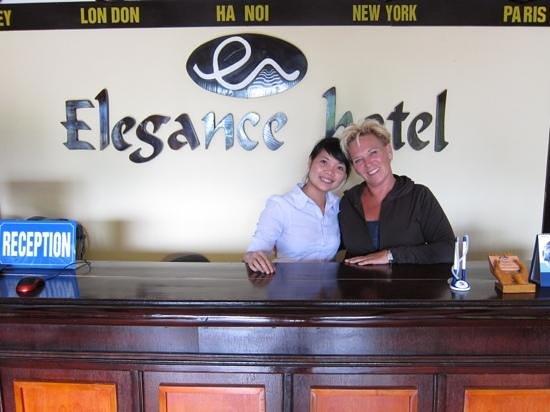 Sapa Elegance Hotel: een hele lieve medewerker