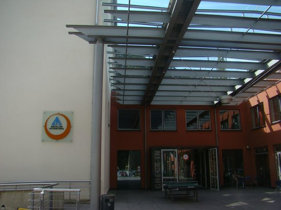 Youth Hostel Luxembourg City: Entrance