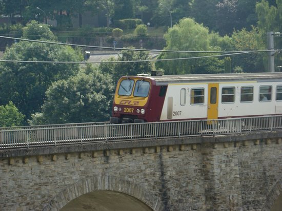 Youth Hostel Luxembourg City: Trainspotting ;)