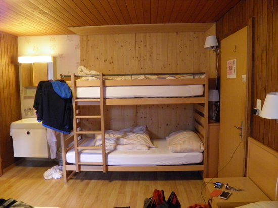 Hotel Roessli: Bunk beds for children