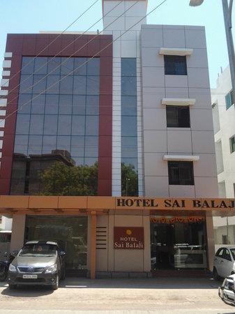 Hotel Sai Balaji : Front  Elevation