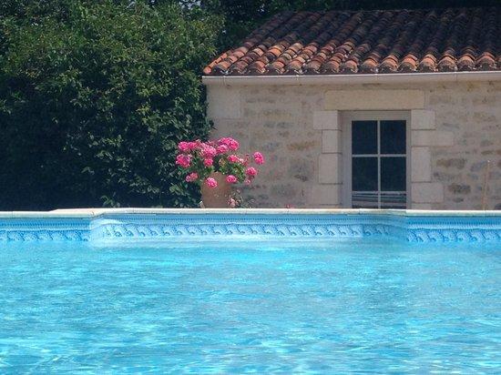 Au Moulin Brun : piscine chauffée