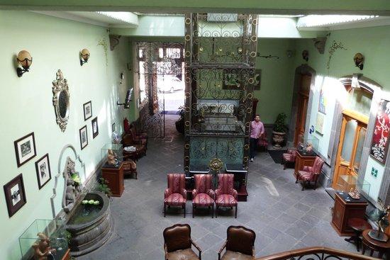 Hotel Puebla de Antano: Lobby