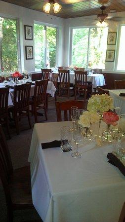 Pearl's Foggy Mountain Cafe: wedding rehearsal dinner