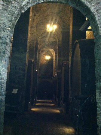 Cantina de' Ricci : the big kegs of wine