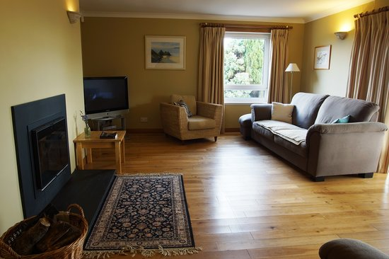 The Braes B&B: Guest lounge