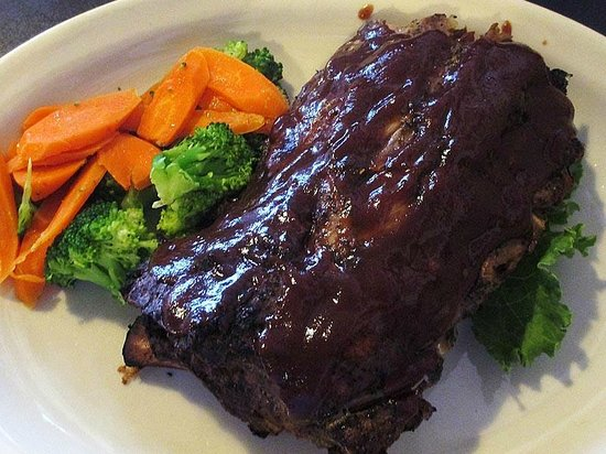 Silk Mill Grille: Half Rack of Ribs