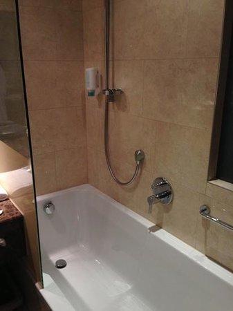Das Alpenhaus Kaprun: bathtub