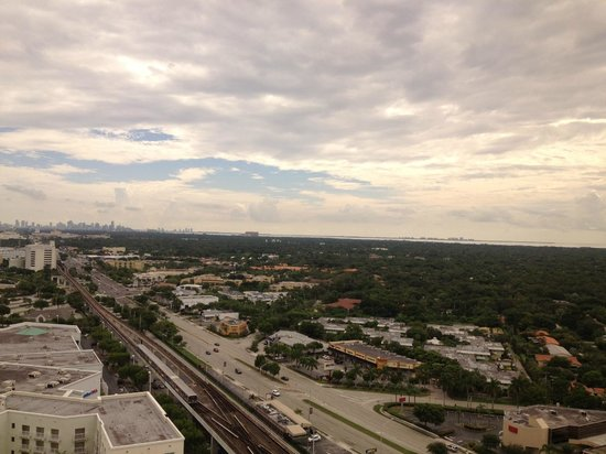 Miami Marriott Dadeland: Concierge View