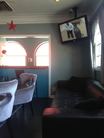 USA Hostels Hollywood: Common area