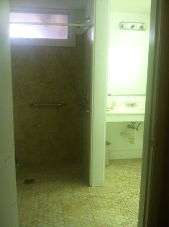 "Trade Winds Inn: Shower ""area"""
