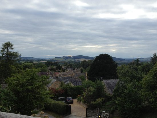 Cotswolds Riding: view from the Mount Inn, Stanton